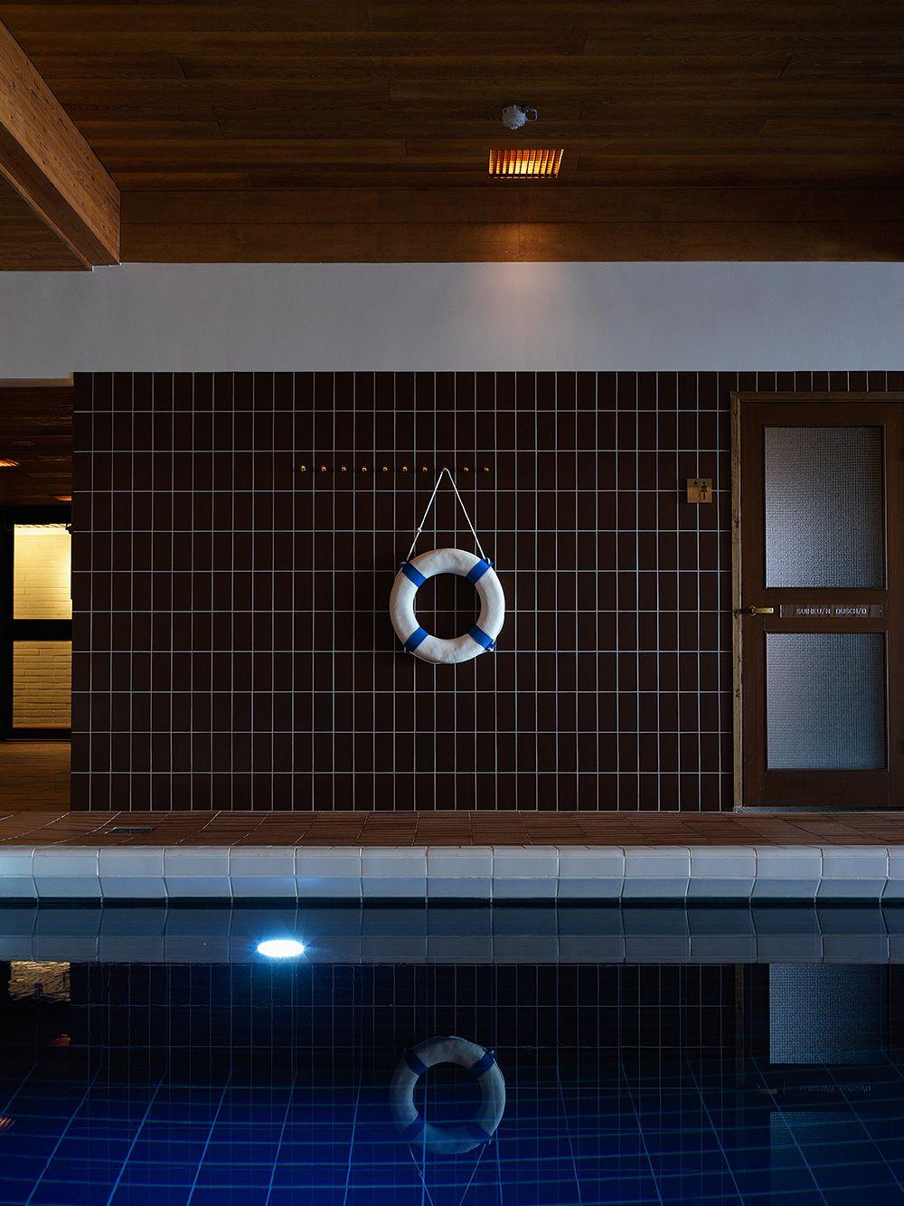 Hanasaaren hotellin uima-allasosasto