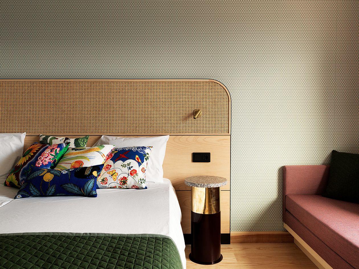 Hanasaaren hotellin superior-huone