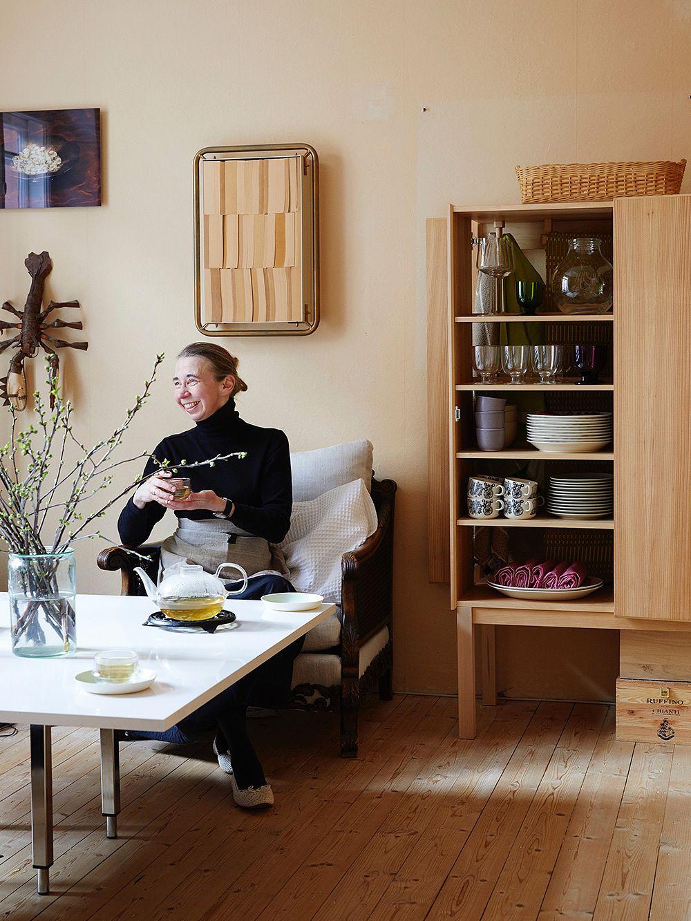 Hanni Koroman keittiössä
