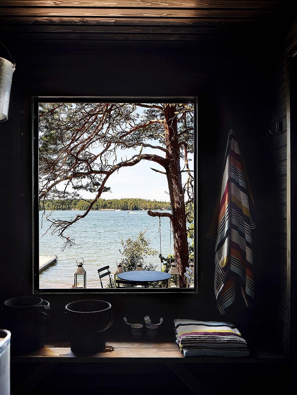 Vapaa-ajankoti Högsåran saarella