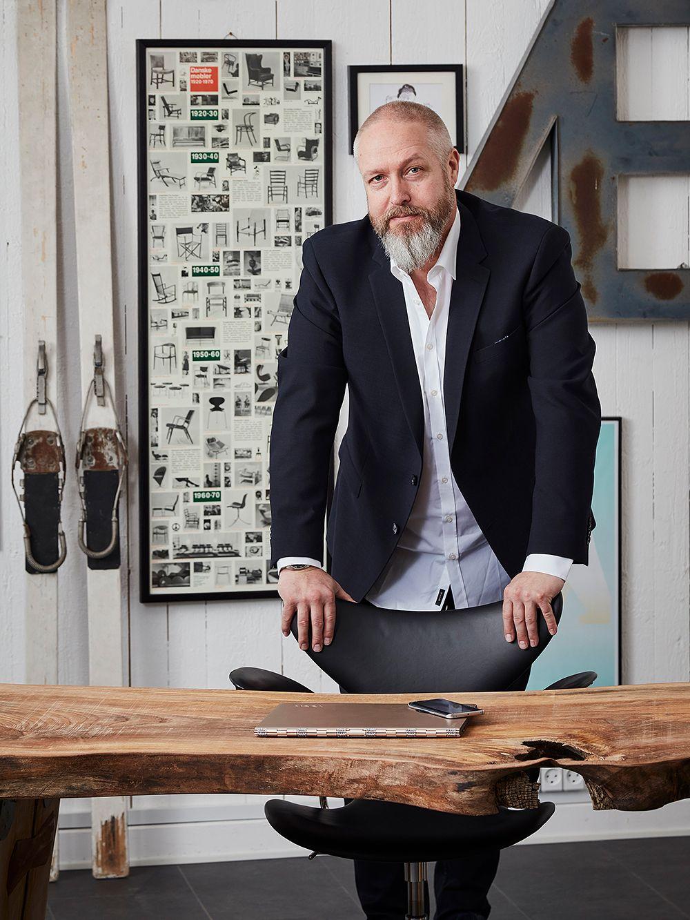 Le Klint CEO Kim Weckstrøm Jensen