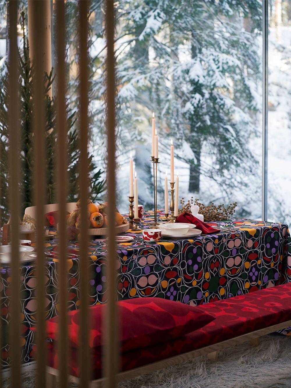 Marimekko Talvipalatsi-kangas