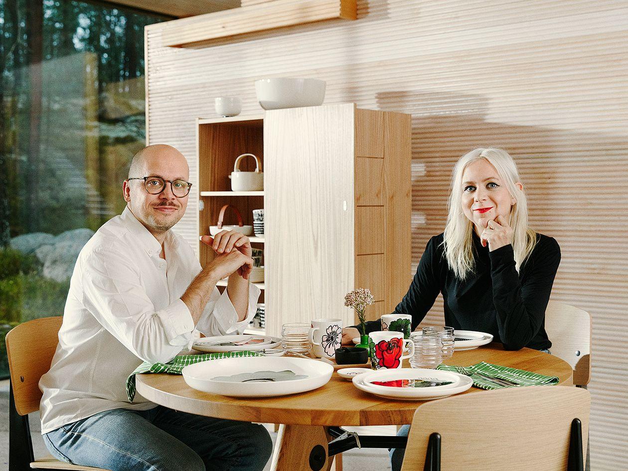 Sami Ruotsalainen ja Maija Louekari