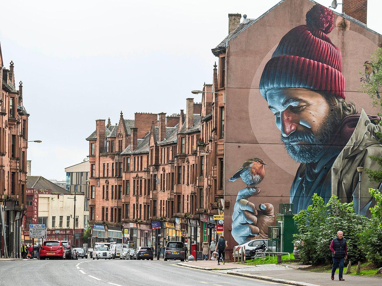 Glasgow'n Saint Mungo -seinämaalaus