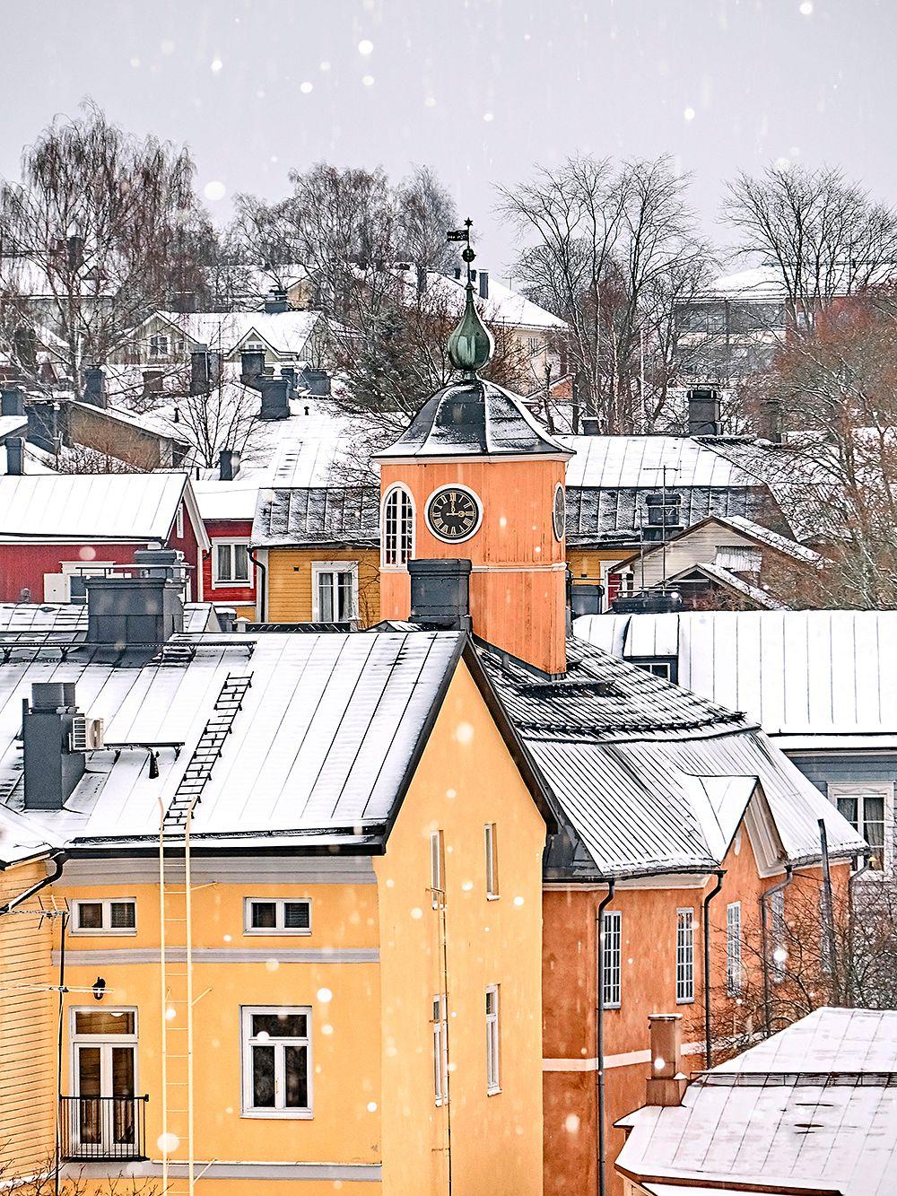 Porvoon vanhaa kaupunkia