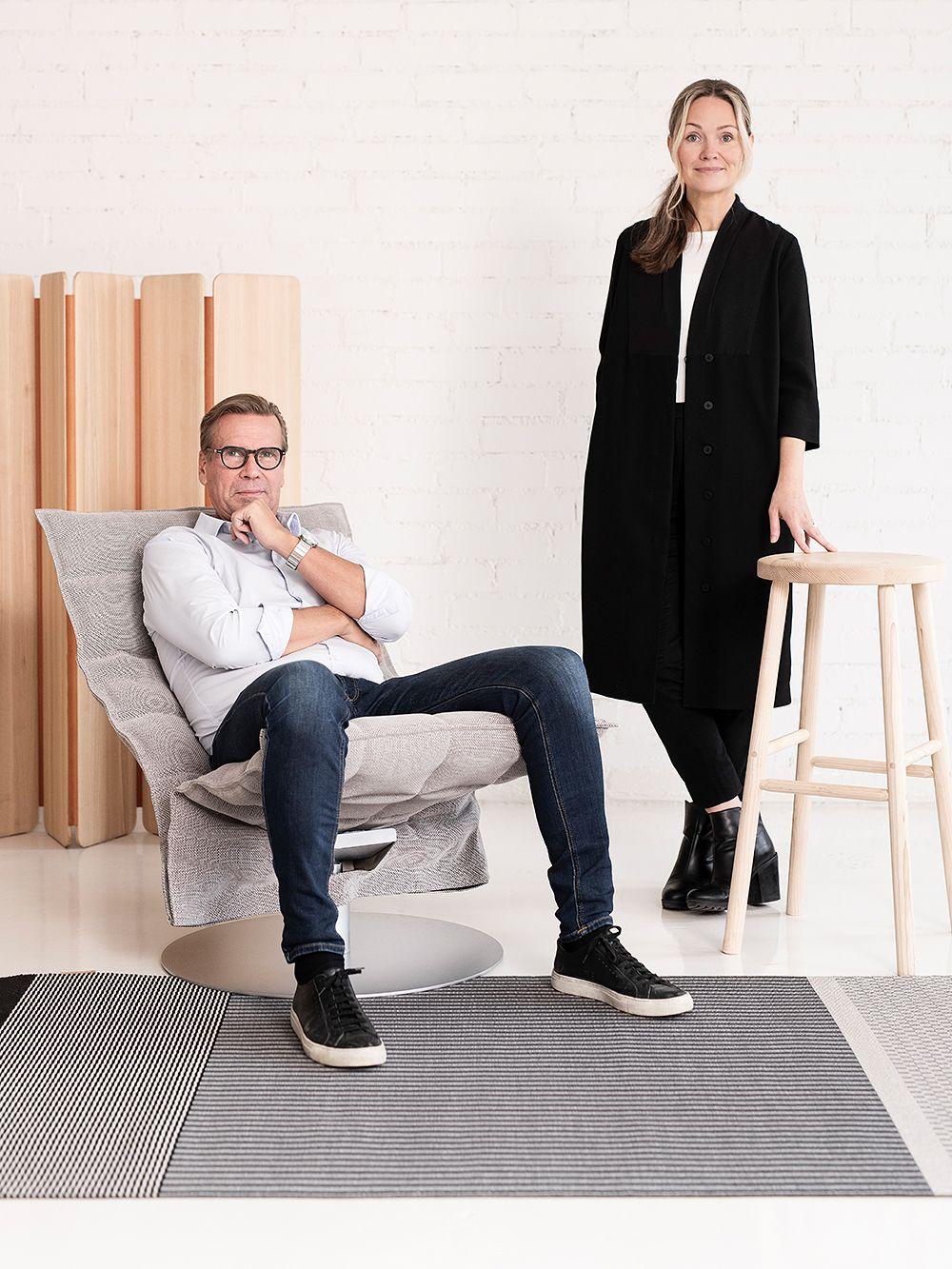 Woodnotesin Mikko Puotila ja Nikarin Johanna Vuorio