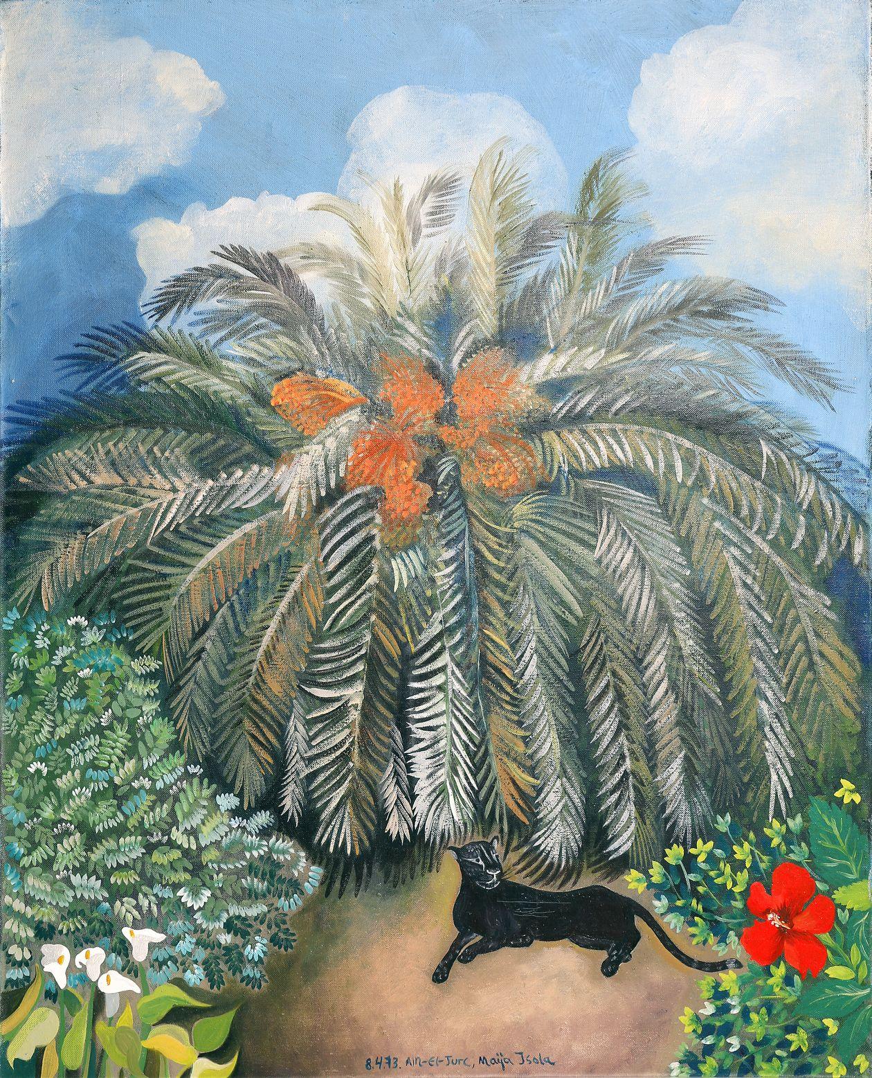 Maija Isola: Pantteri ja hibiscus