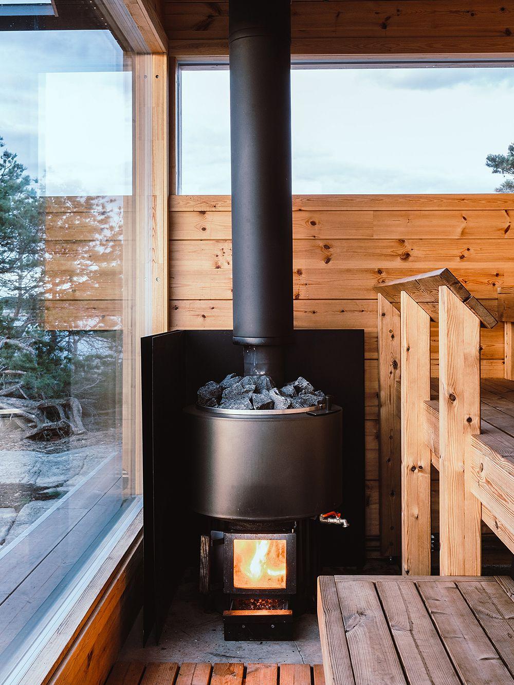 Projekti Ö sauna