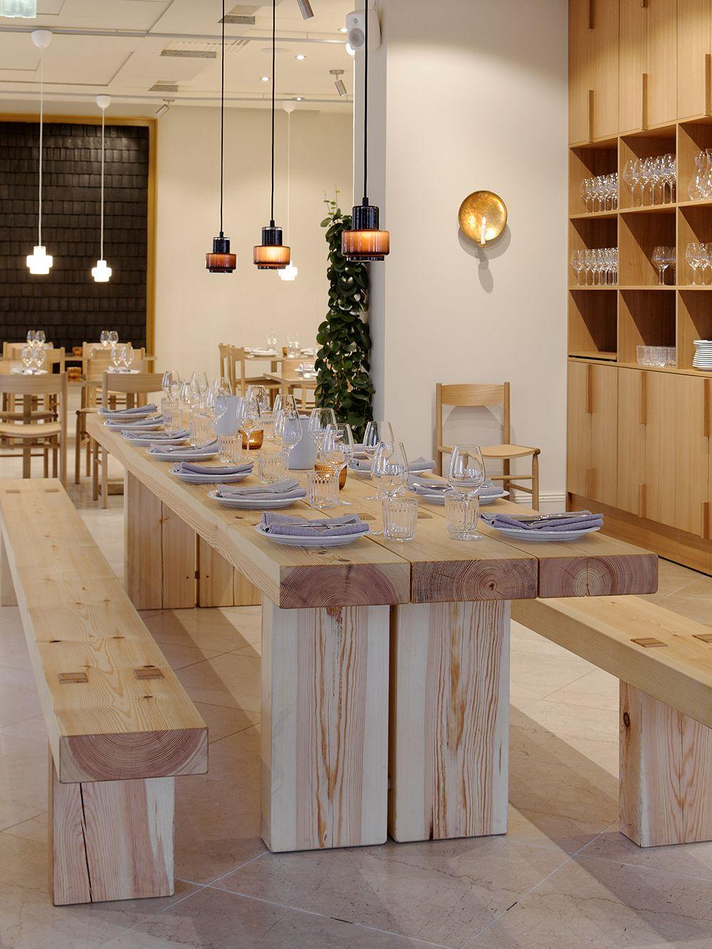 Mattila & Merzin ruokapöytä