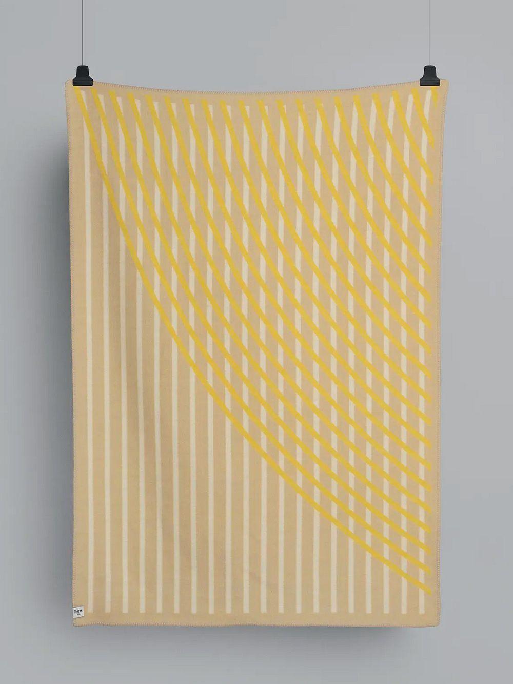 Røros Tweedin keltainen Bislett-viltti