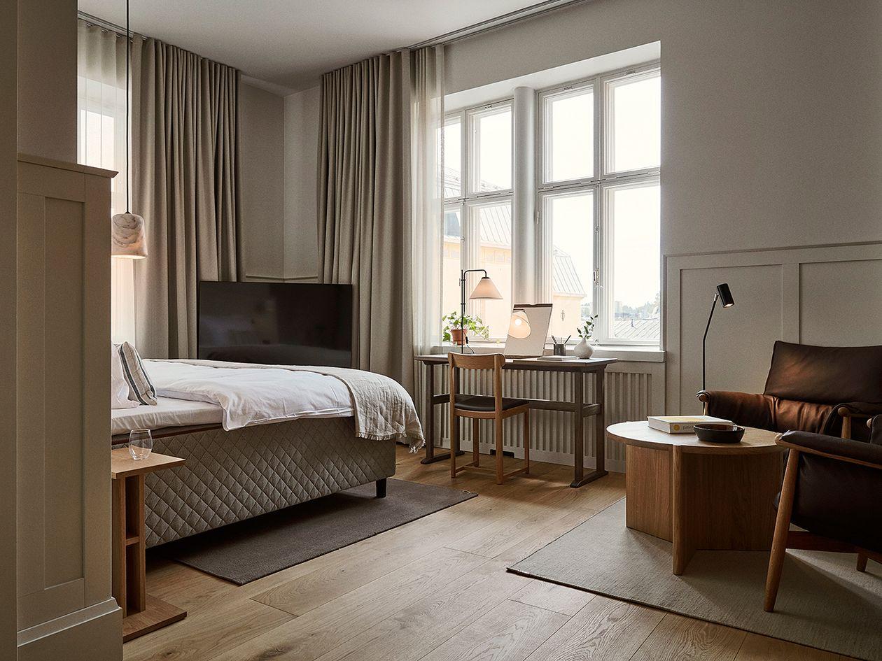Runo-hotellin huone