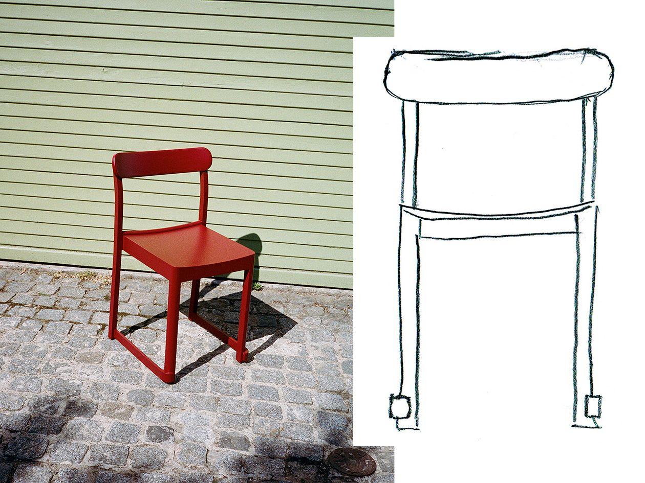 Artek Atelier-tuoli