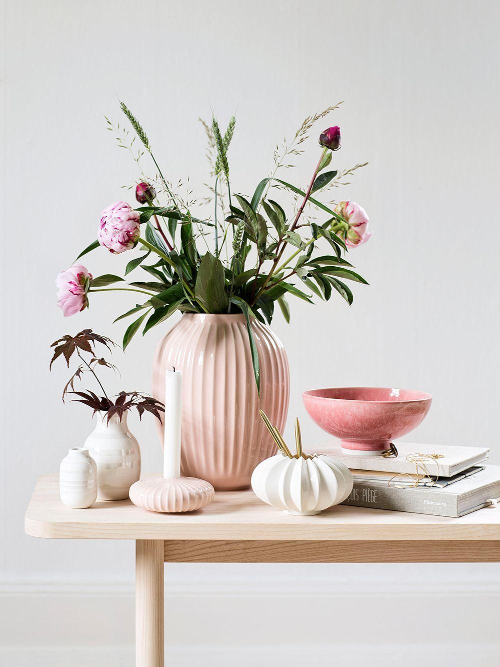 Kählerin Hammershøi-maljakko, roosa