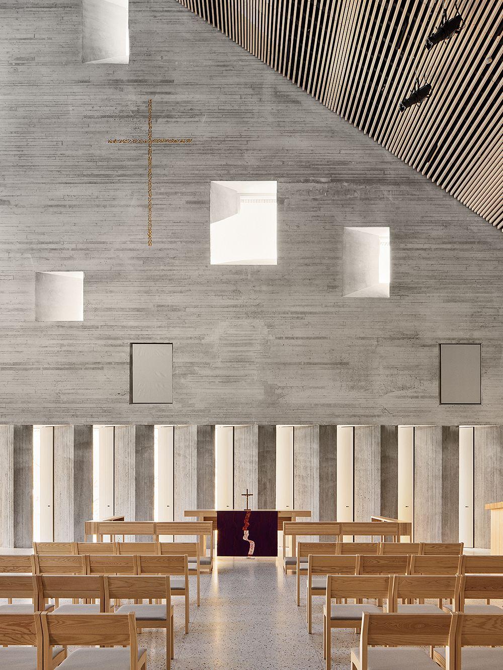 Tikkurilan kirkko, kirkkosali