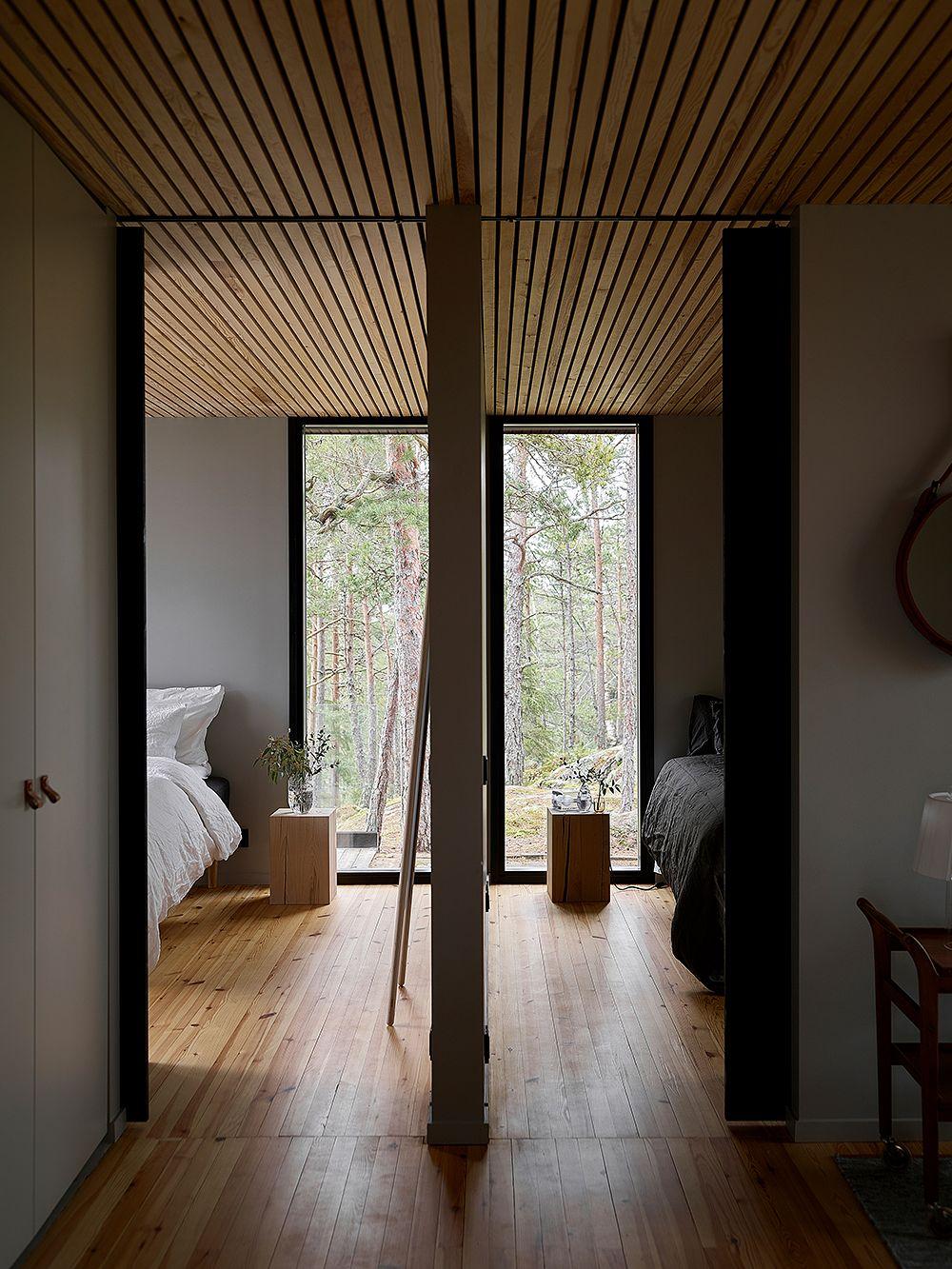 Villa Nagu makuuhuoneet