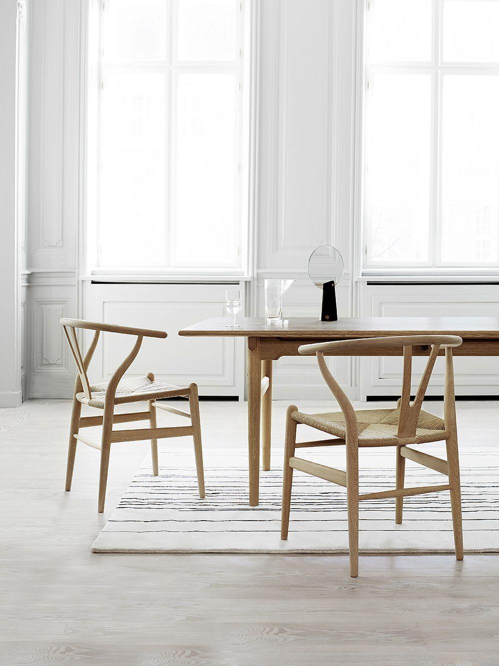 Carl Hansen & Søn CH24 Wishbone tuoli, saippuoitu tammi - paperinaru