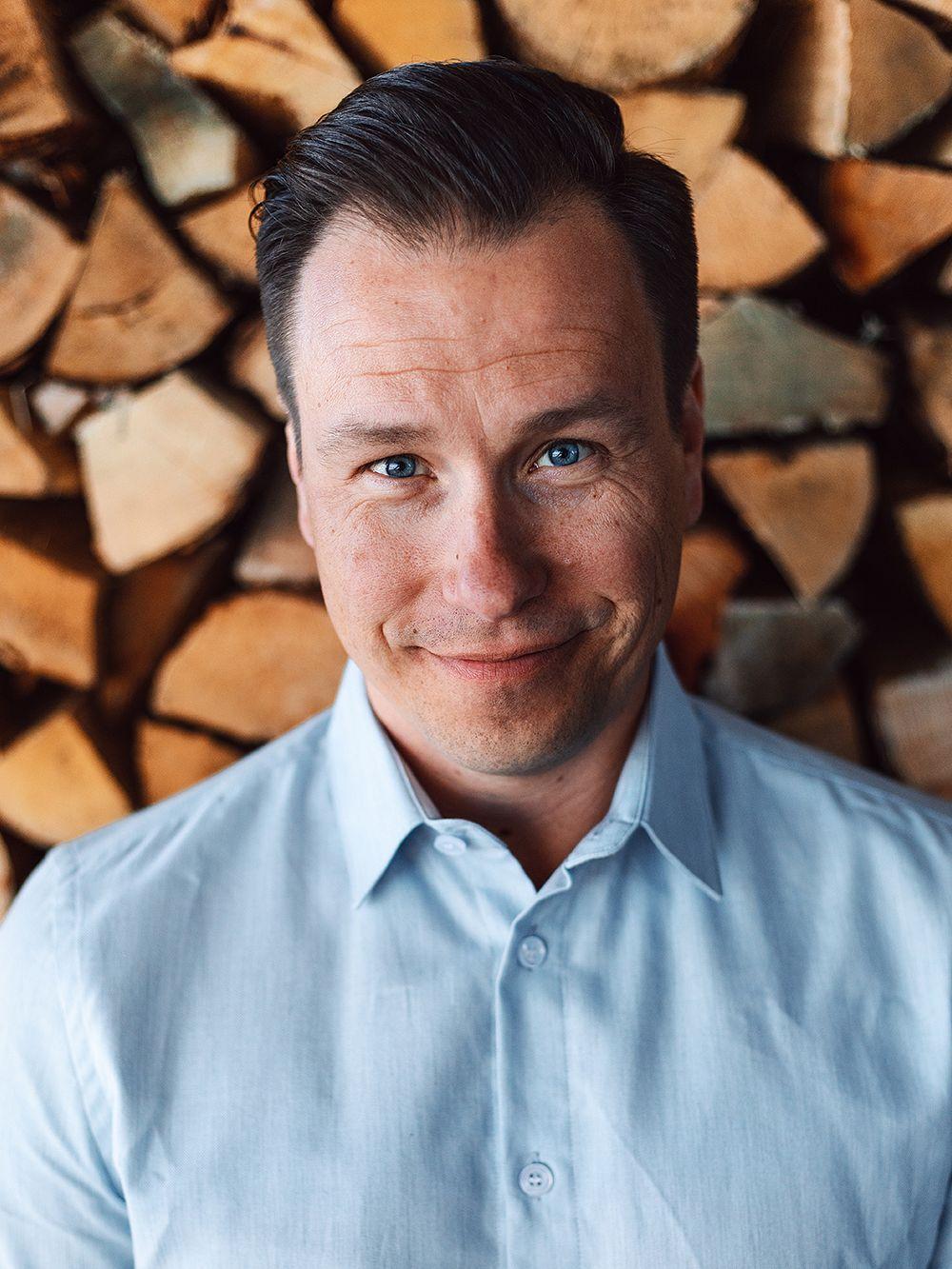 Woodio CEO Petro Lahtinen