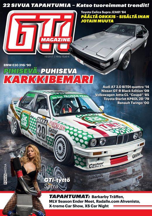 Gti Magazine -lehden kansi