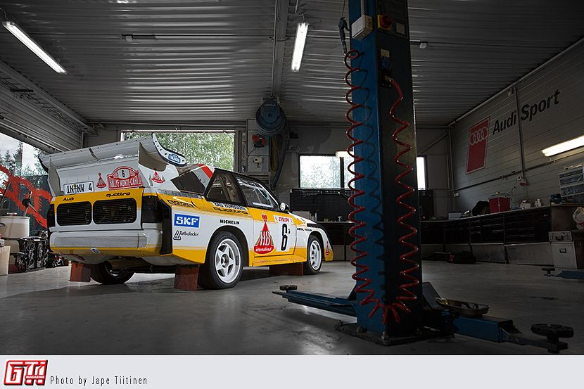 Brutal B Audi Sport Quattro S1 E2 Replica 22 Turbo 1986 Gti