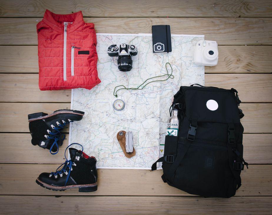 Équipement pour une randonnée
