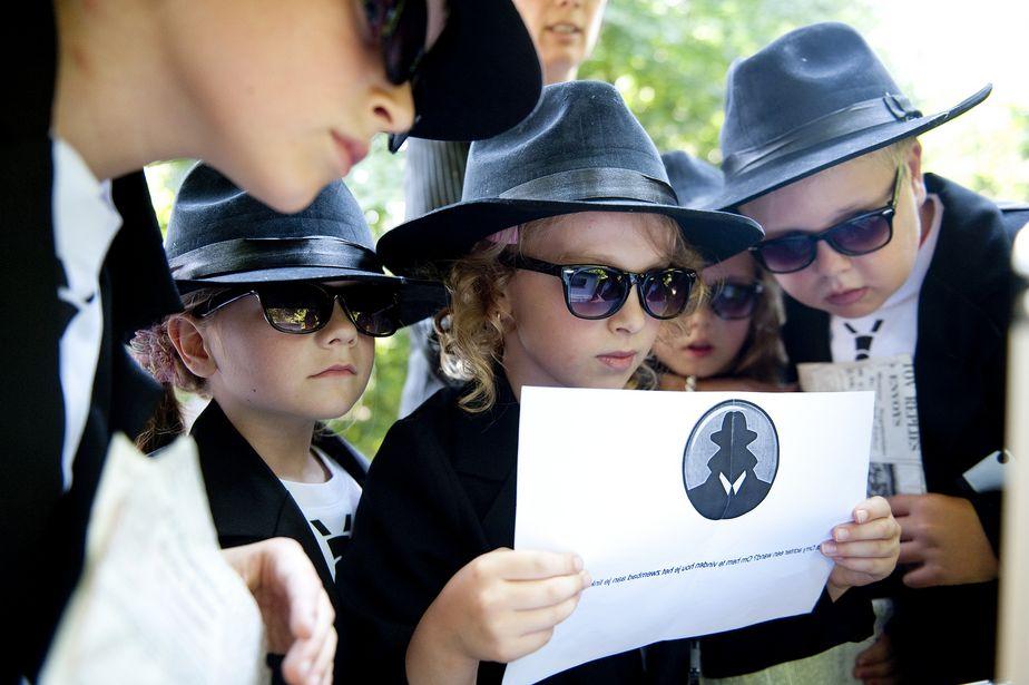activité agent secret club enfants