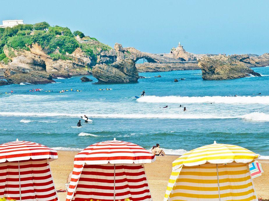La ville de Biarritz