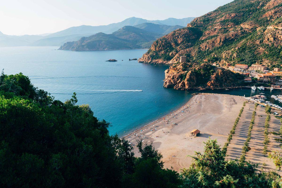 Porto et Ota en Corse