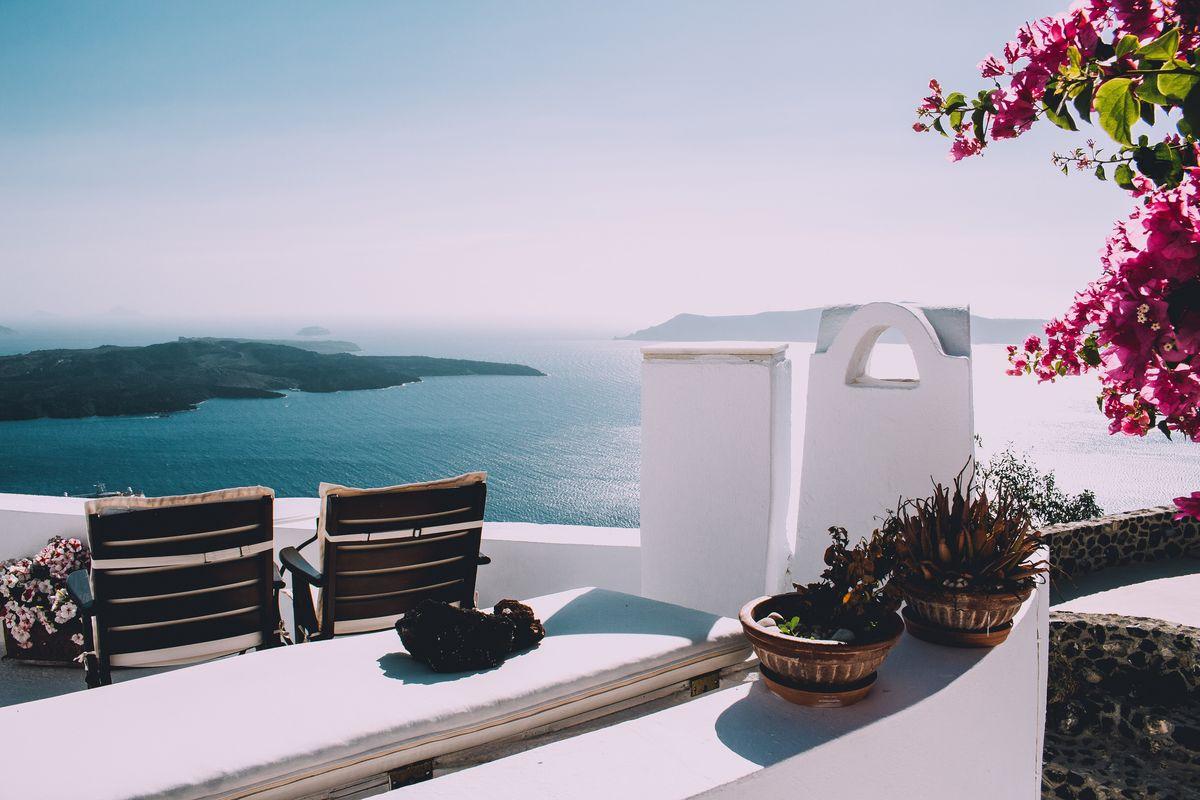 Vue mer en Crète