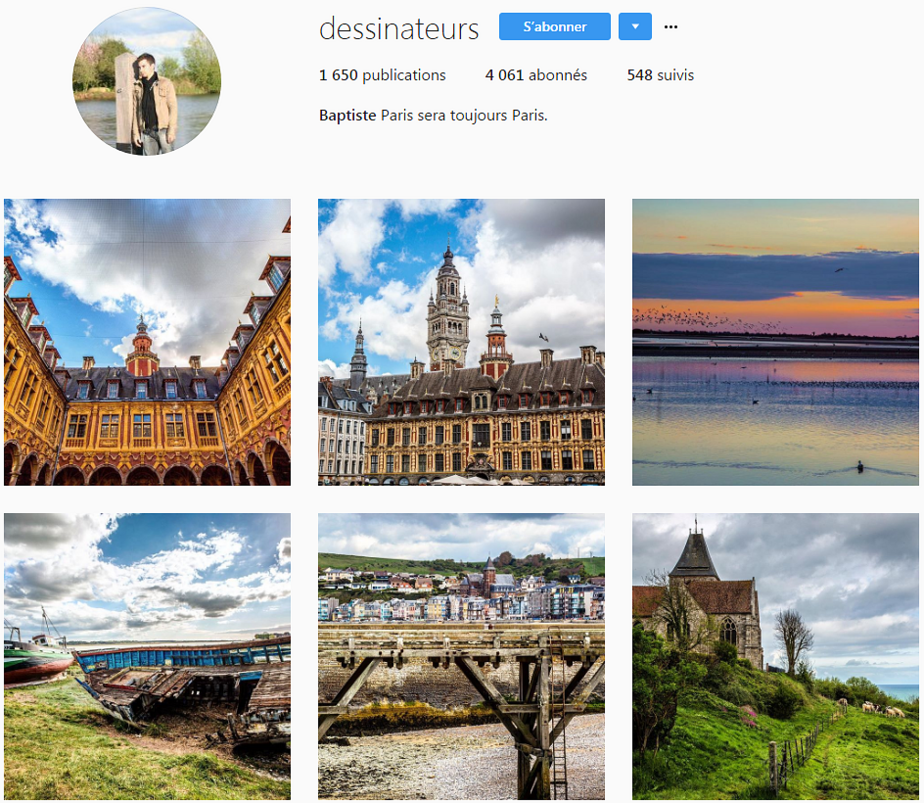 baptiste dessinateurs instagram