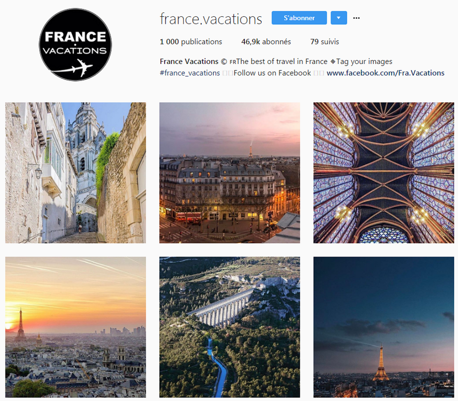 francevacations instagram