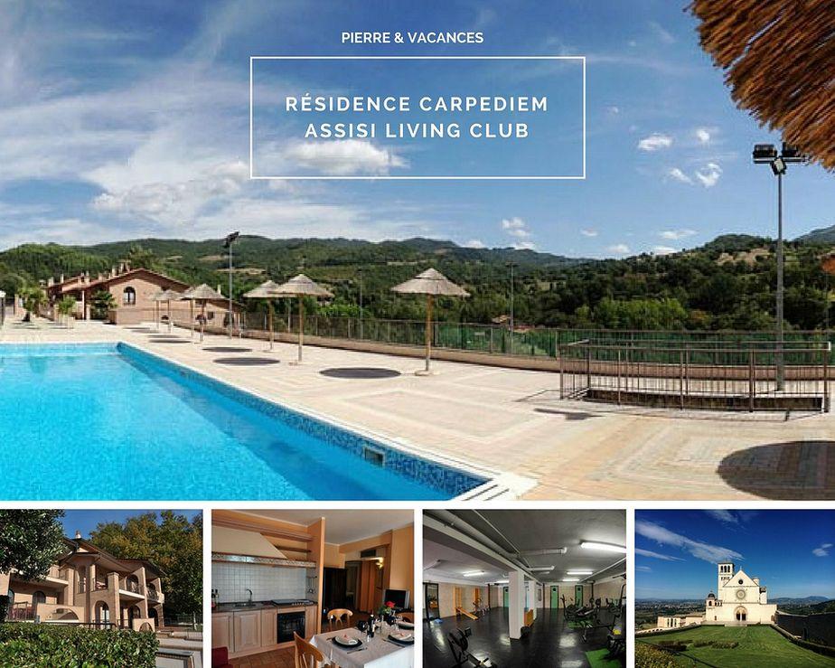 La résidence Pierre et Vacance CarpeDiem Assisi Living Club