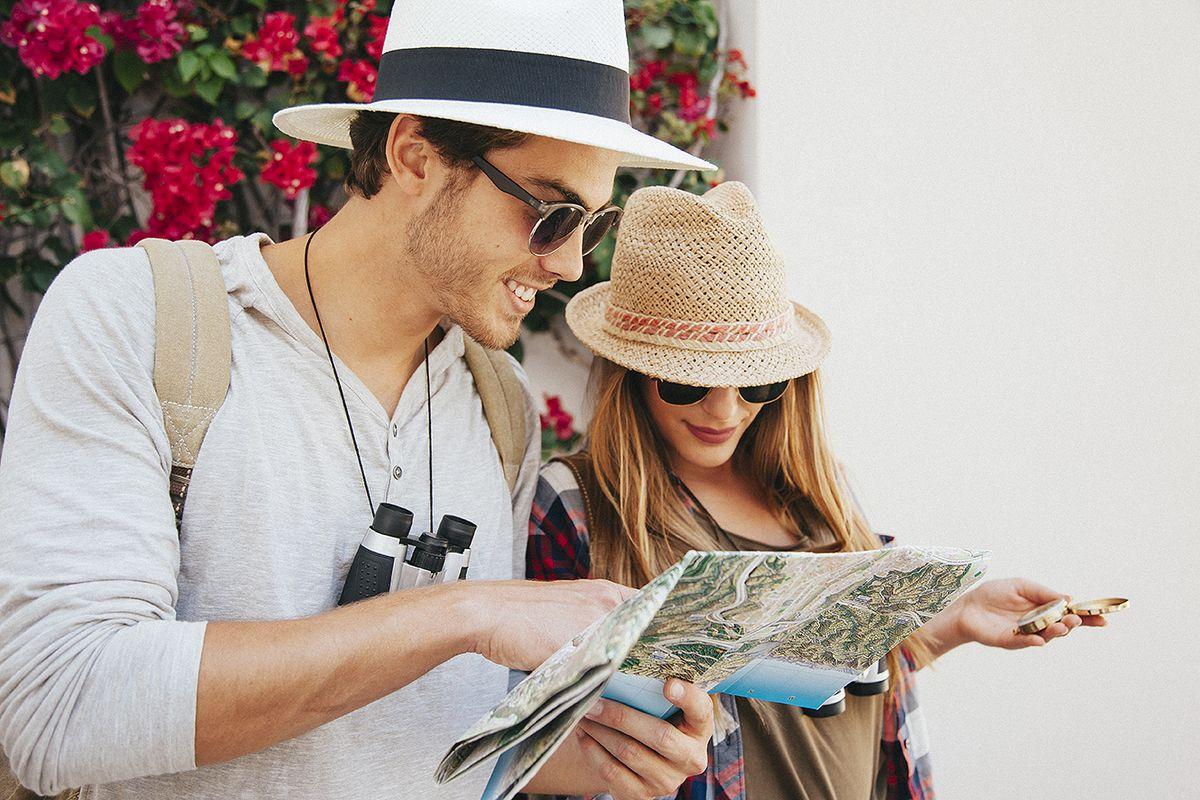 Couple en vacances
