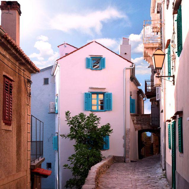 Rue en Croatie