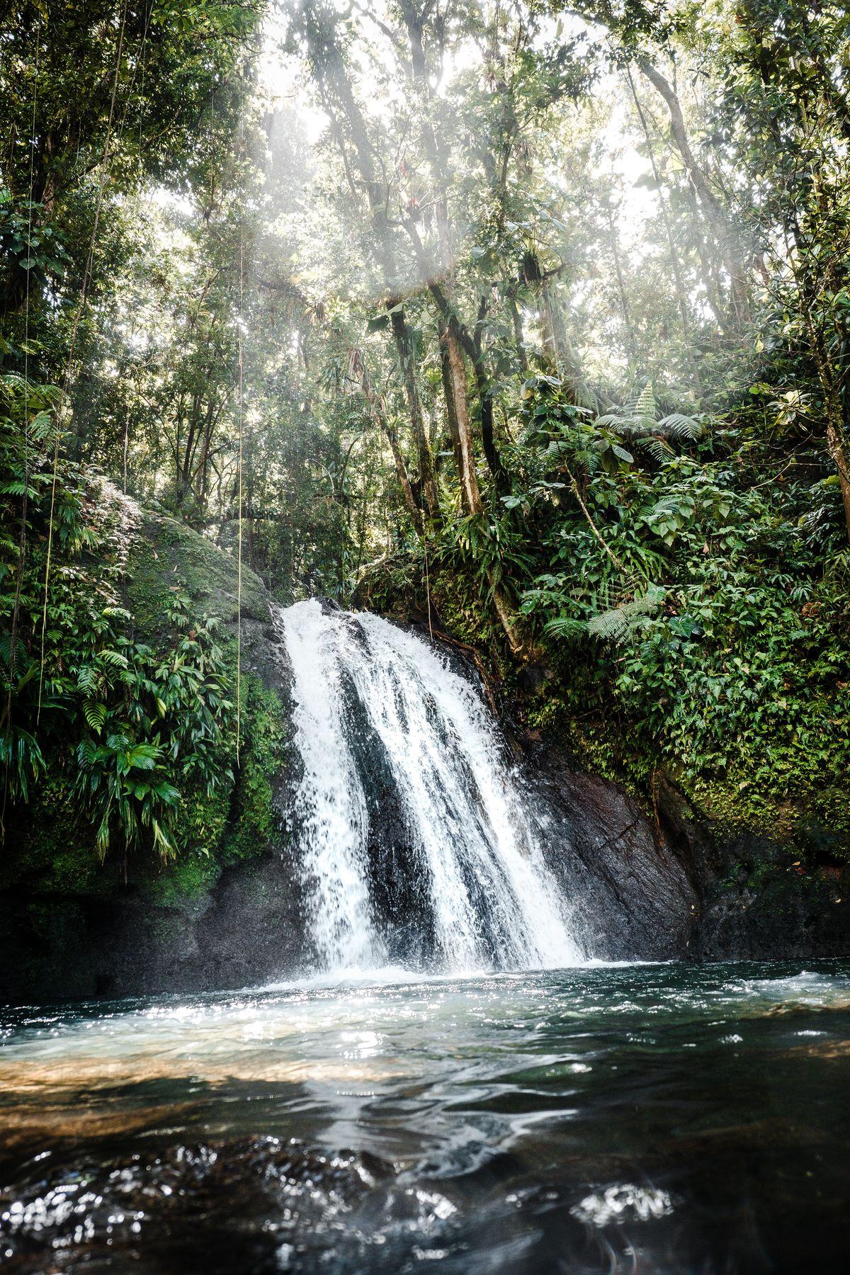 Cascade aux Antilles