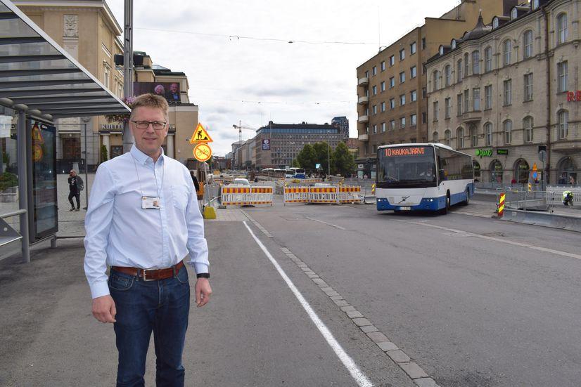 Tampereen kaupungin rakennuttamisjohtaja Milko Tietäväinen
