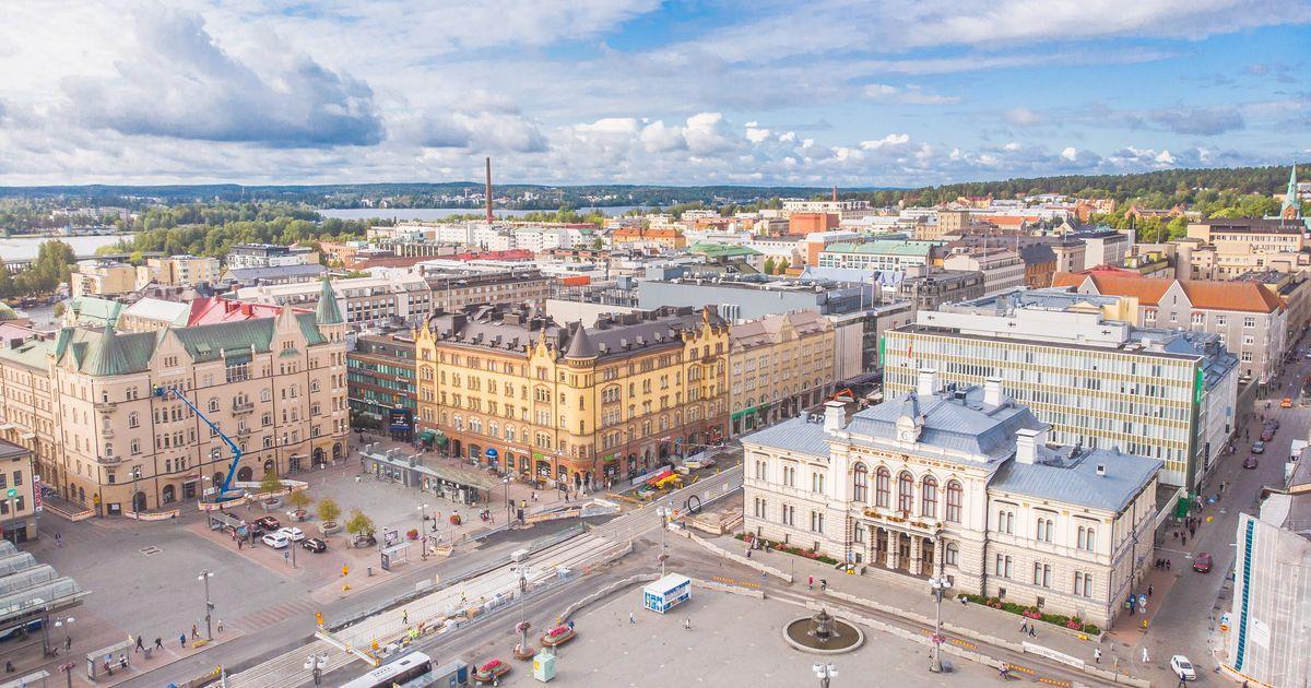 Tampere Väkiluku 2021