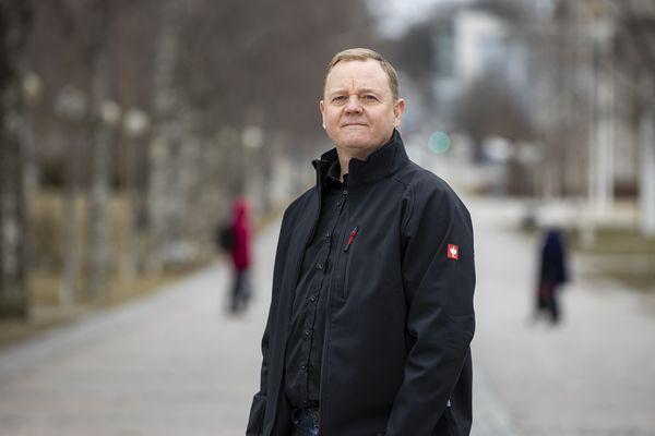 Layher Gmbh:n Suomen tytäryhtiö Layher Oy:n toimitusjohtaja Marko Mölsä