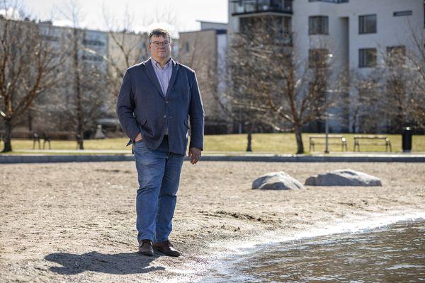 Lahden Tiedepuistoon, Vesijärven rannan tuntumaan sijoittunut SansOxin toimitusjohtaja Mikael Seppälä