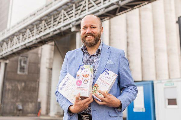 Päijät-Hämeen Viljaklusterin puheenjohtaja ja Fazer Myllyn toimitusjohtaja Jarkko Arrajoki