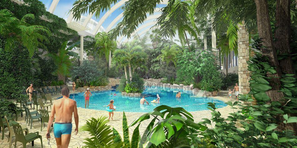 Konzeptbild des Aqua Mundos von Park Allgäu