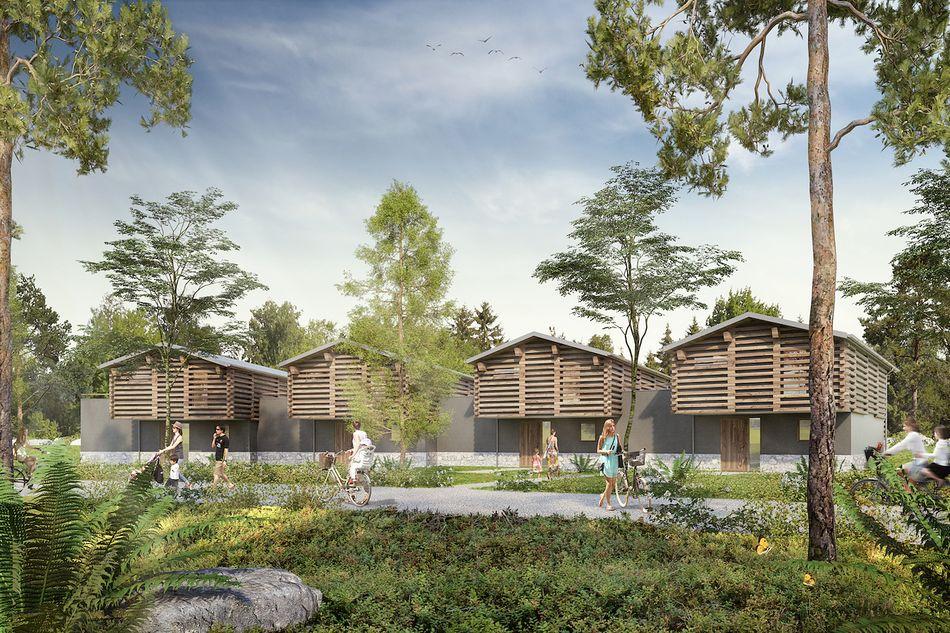 Vorläufiger Entwurf Exclusive-Ferienhäuser