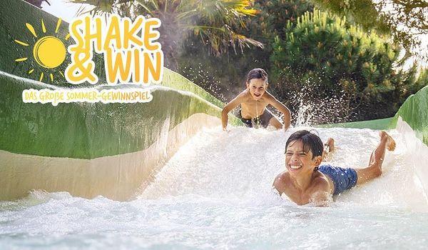 "Das große Sommer-Gewinnspiel ""SHAKE & WIN"""