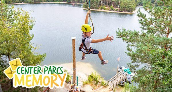 Center Parcs-Memory: das neue Center Parcs-Gewinnspiel!