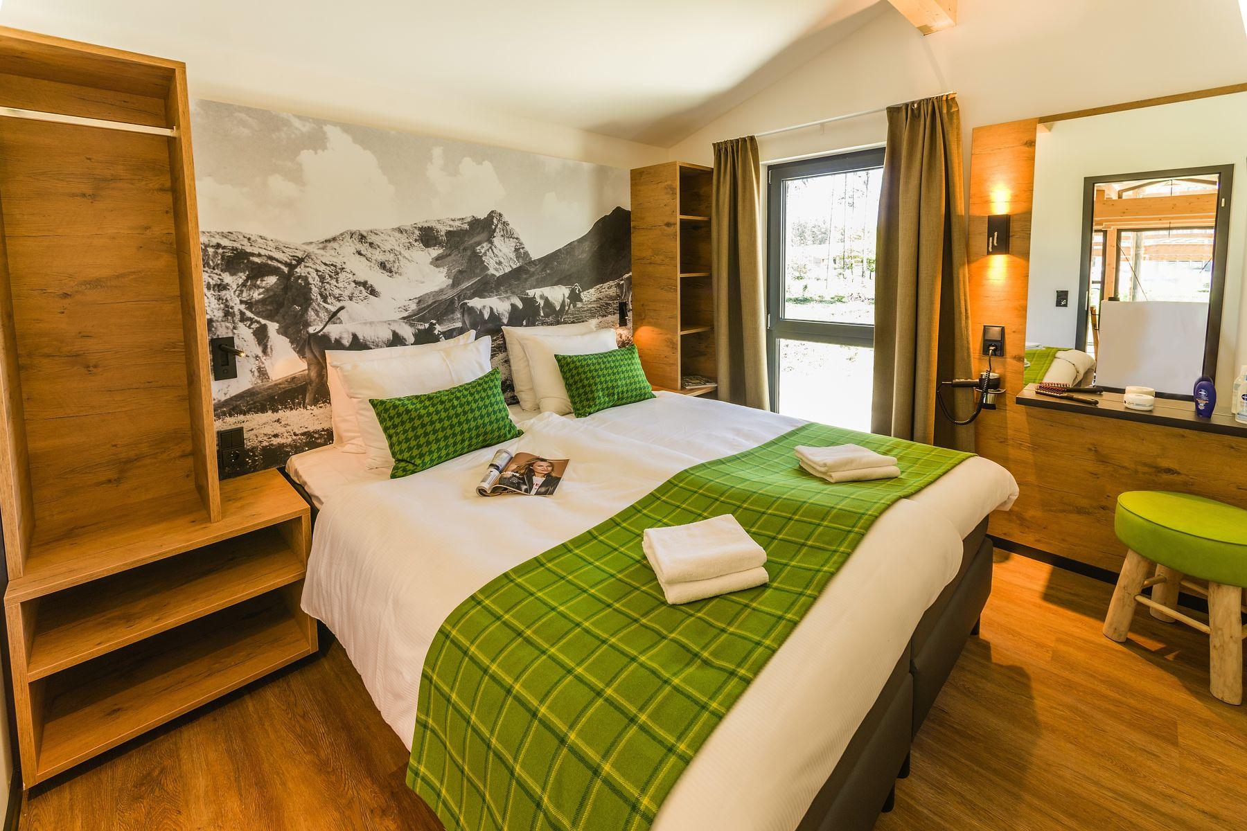 Die ersten Fotos: Exclusive-Ferienhäuser in Park Allgäu