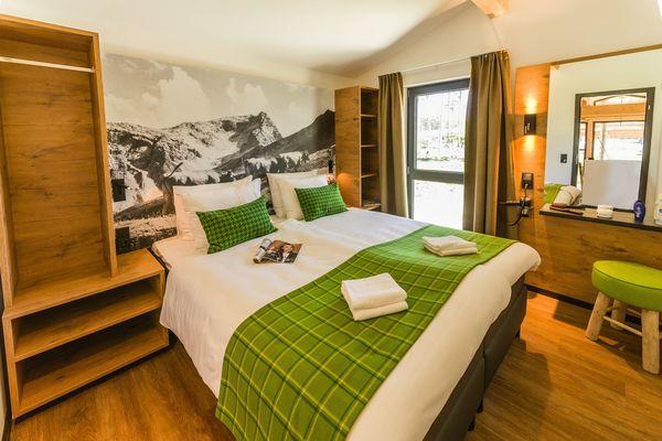 Exclusive-Ferienhaus Park Allgäu: Schlafzimmer