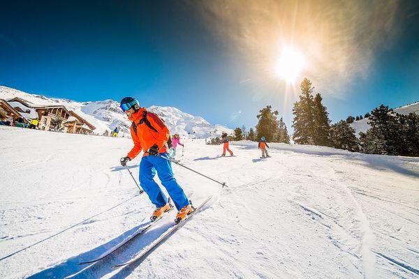 Wintersport in der Nähe unserer Parks