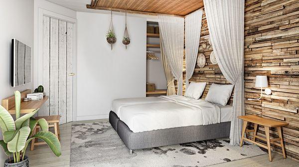 Beach Chilla Park Zandvoort Schlafzimmer