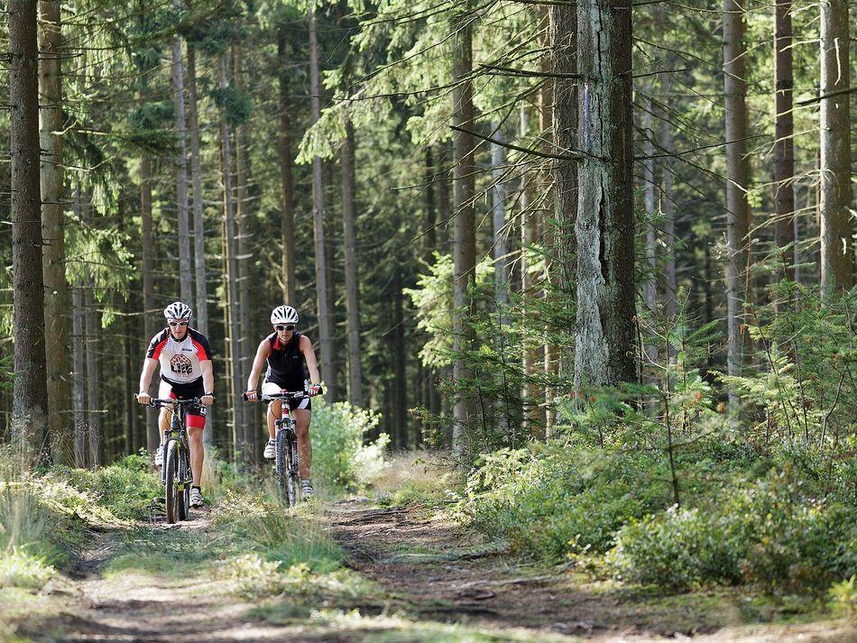 Anspruchsvolle Mountainbike-Routen