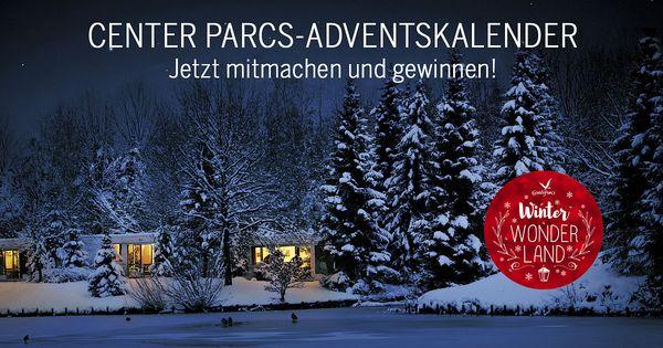 Der Center Parcs-Adventskalender ist wieder da!