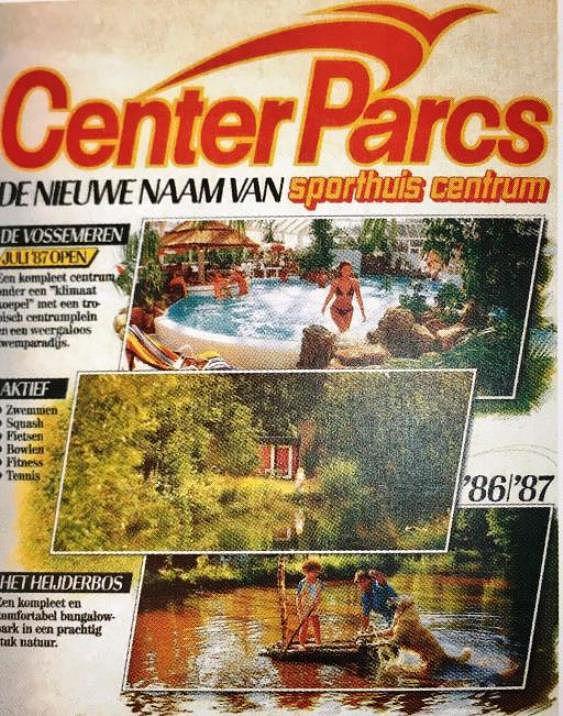 Aus Sporthuis Centrum wird Center Parcs
